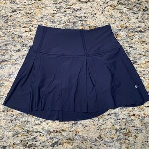 Lululemon Lost In Pace Skirt (Midnight Blue)
